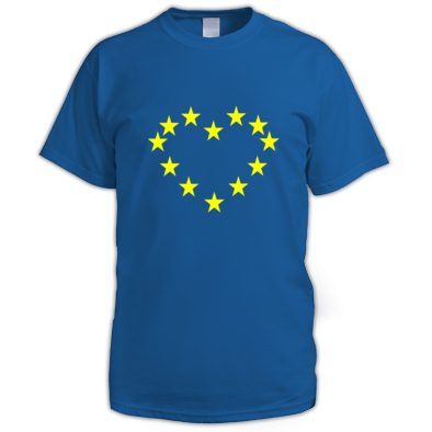 I Love EU Mens T-Shirt