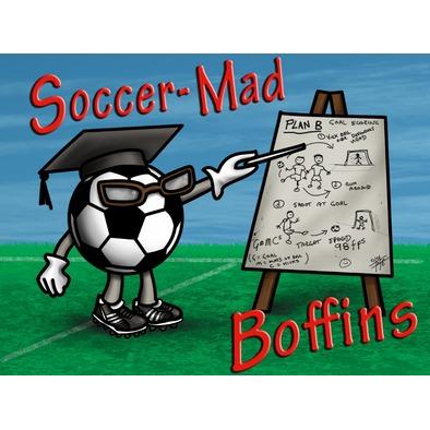 Soccer Mad Boffins Mug
