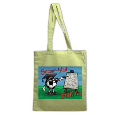 Soccer Mad Boffins Tote Bag