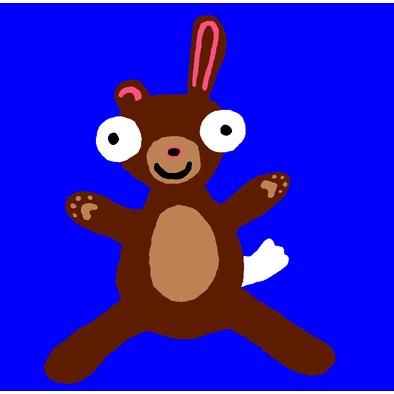 Baby Bunny Bear Hugimal>