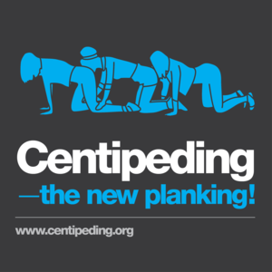 Centipeding - the new planking!