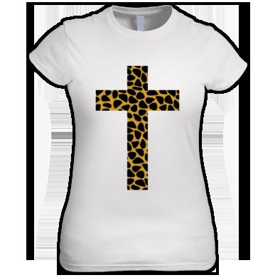 Leopard Print Cross