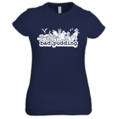 Bad Pudding Women's Fit Tee