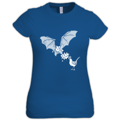 Bat and Robin Women's Fit Tee