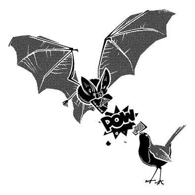 Bat and Robin Hoodie>
