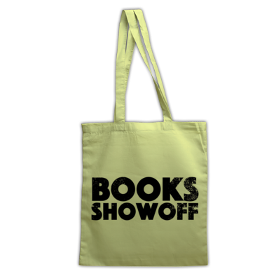 BOOKS SHOWOFF tote