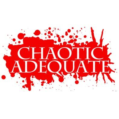 Chaotic Adequate - splatter logo