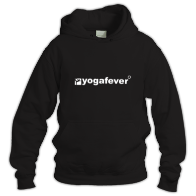 Yogafever Logo Black on White