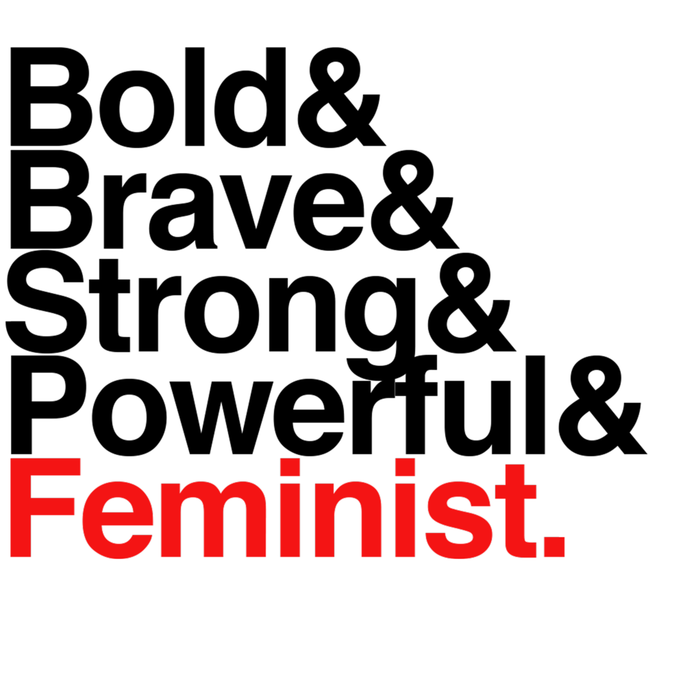 &Feminist Tee - Fitted>