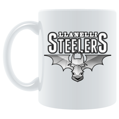 Llanelli Steelers Coffee Mug (Titanium Logo)