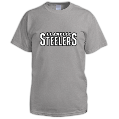 Llanelli Steelers Men's Tee (Text Only Logo)