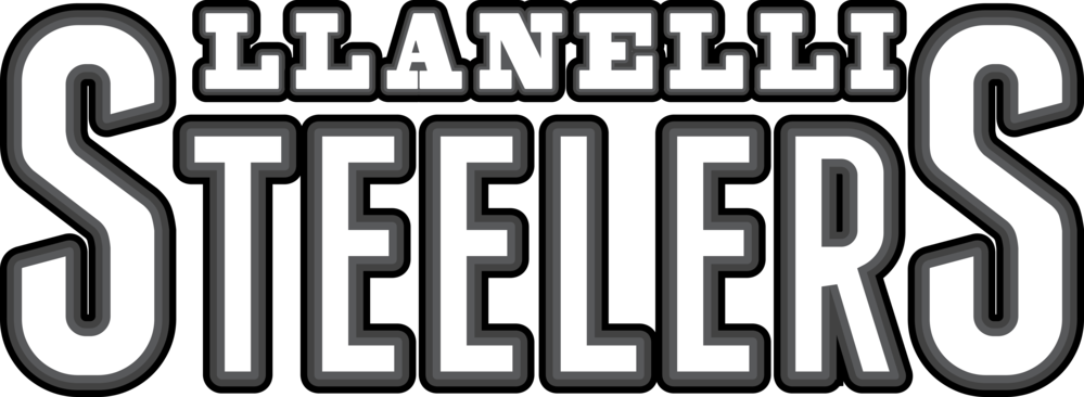 Llanelli Steelers Hoodie (Text Only Logo)>