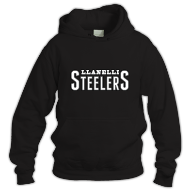 Llanelli Steelers Hoodie (Text Only Logo)