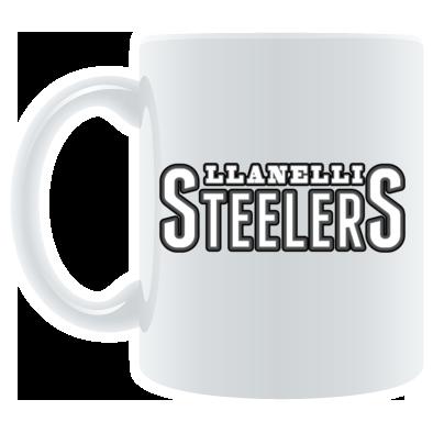 Llanelli Steelers Coffee Mug (Text Only Logo)