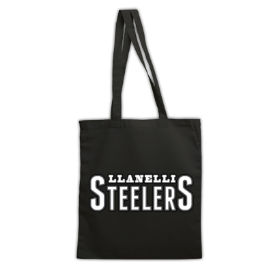 Llanelli Steelers Bag For life (Text Only Logo)