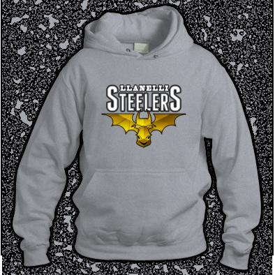 Llanelli Steelers Hoodie (Platinum Logo)