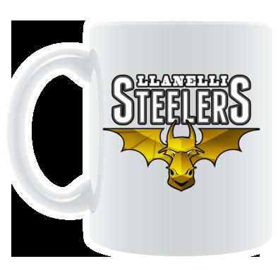 Llanelli Steelers Coffee Mug (Platinum Logo)