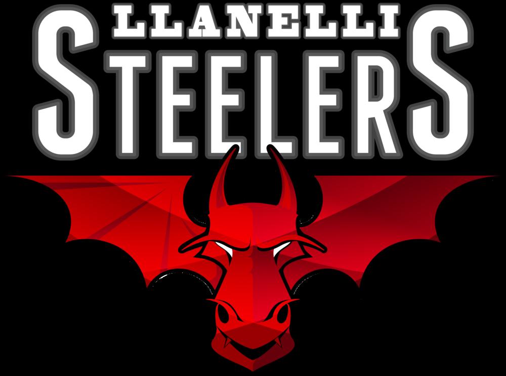 Llanelli Steelers Hoodie (Hellfire Logo)>