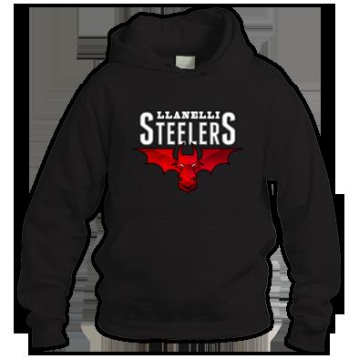 Llanelli Steelers Hoodie (Hellfire Logo)
