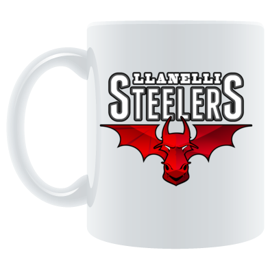 Llanelli Steelers Coffee Mug (Hellfire Logo)