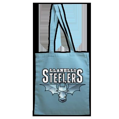 Llanelli Steelers Bag For Life (Blue Steel Logo)