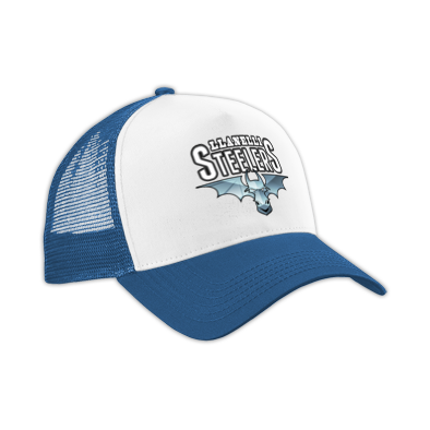 Llanelli Steelers Baseball Cap (Blue Steel Logo)