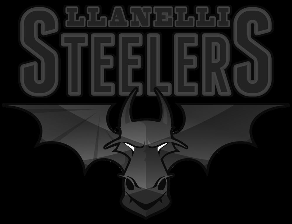 Llanelli Steelers Women's Tee (Obsidian Logo)>