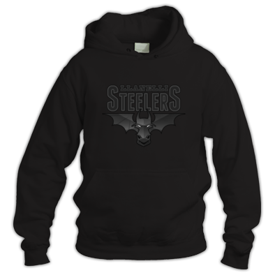 Llanelli Steelers Hoodie (Obsidian Logo)