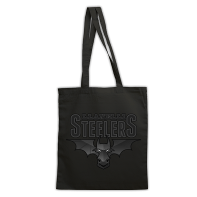 Llanelli Steelers Bag For Life (Obsidian Logo)