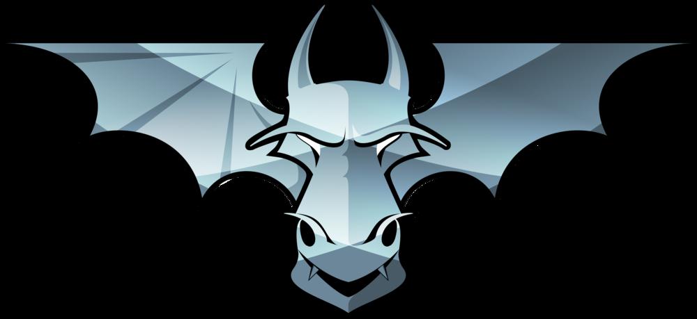 Llanelli Steelers Men's Tee (Blue Steel Dragon)>