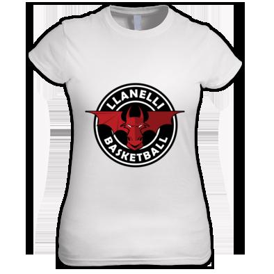 Llanelli Basketball Dragon Women's Tee