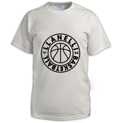 Llanelli Basketball Vintage Men's Tee (Black Version 01)