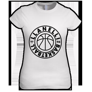 Llanelli Basketball Vintage Women's Tee (Black Version 01)