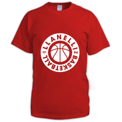 Llanelli Basketball Vintage Men's Tee (White Version 02)