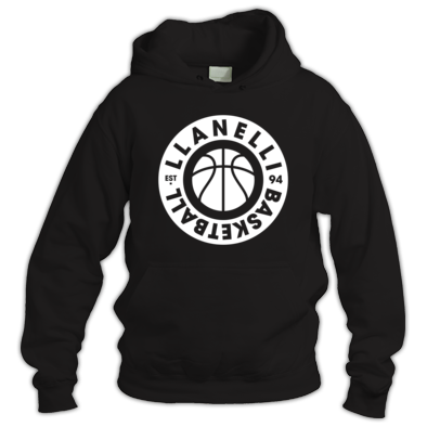 Llanelli Basketball Vintage Hoodie (White Version 02)