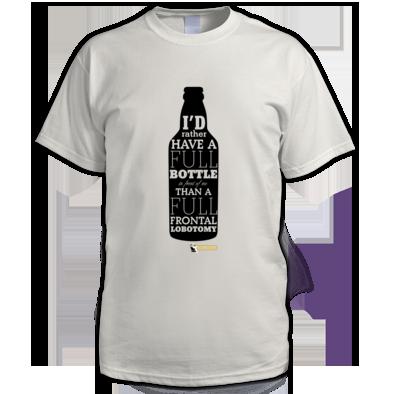 I'd rather have a full bottle (black)