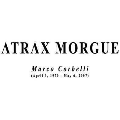 ATRAX MORGUE / Marco Corbelli (April 3, 1970 – May 6, 2007) | MENS UNISEX HOODIE