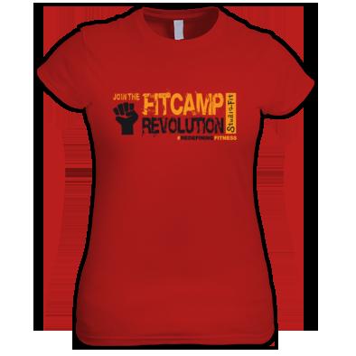 Women T-Shirt #Redefining Fitness