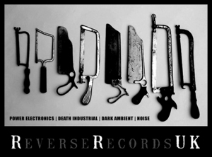 REVERSE RECORDS UK (T-SHIRTS & HOODIES) Noise, Dark Ambient