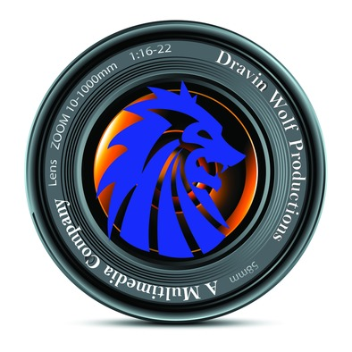 Dravin Wolf Productions Official Logo