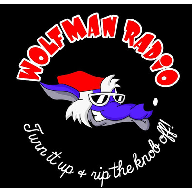 Official Wolfman Radio Men's T-Shirt