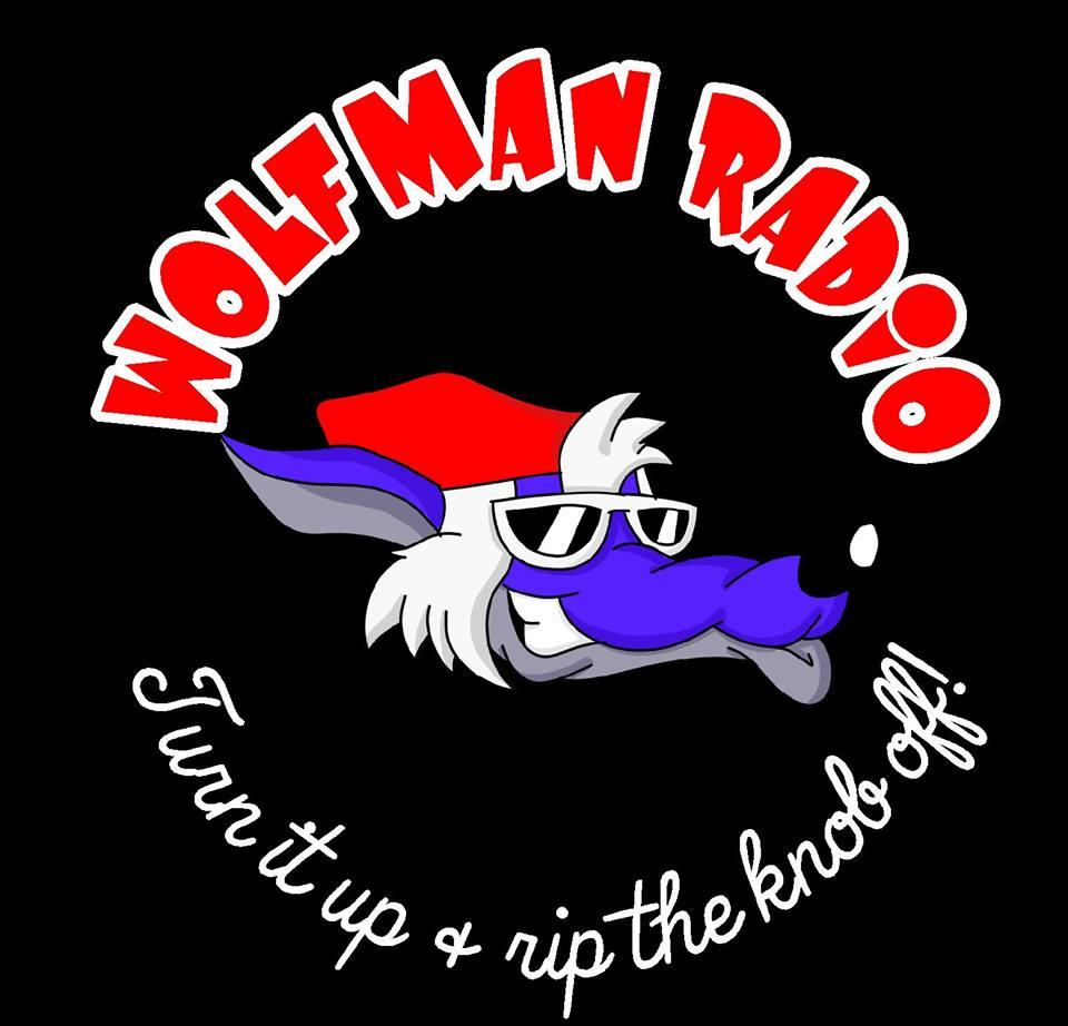 Official Wolfman Radio Men's Hoodie>