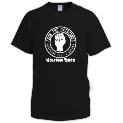 FROM THE CATACOMBS - Wolfman Radio Official T-Shirt
