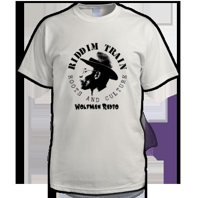 RIDDIM TRAIN Wolfman Radio T-Shirt