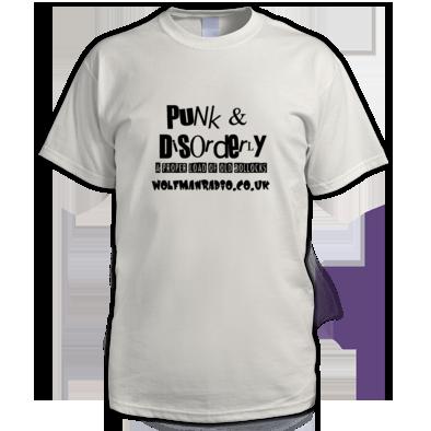 Punk & Disorderly Wolfman Radio Bollocks T-Shirt