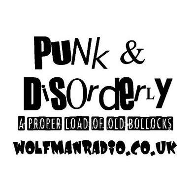 Punk & Disorderly Wolfman Radio Bollocks Hoodie>