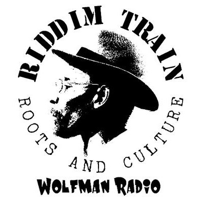 RIDDIM TRAIN Wolfman Radio Ladies T-shirt>