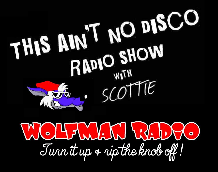 This Ain't No Disco Wolfman Radio Official Tee Shirt>