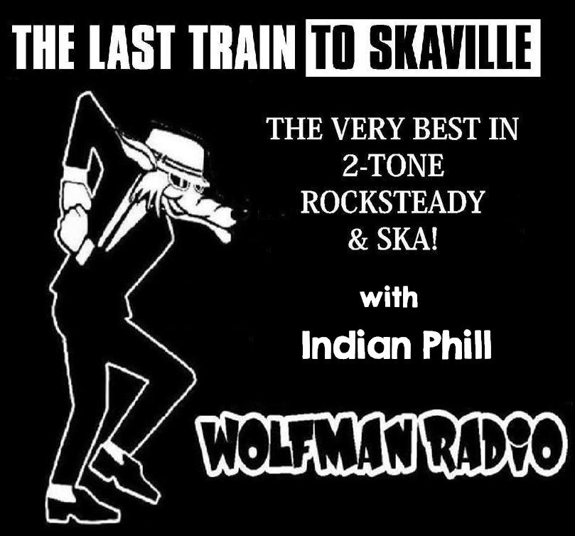 Last Train To Skaville Wolfman Radio Official Tee Shirt>