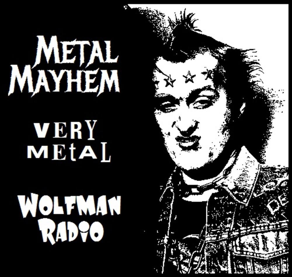 Metal Mayhem Wolfman Radio Official Tee Shirt>